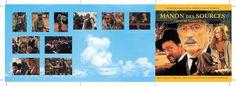 Manon Des Sources OST CD booklet spread. Client: Silva Screen Records. Circa 2001. © Sean Mowle.