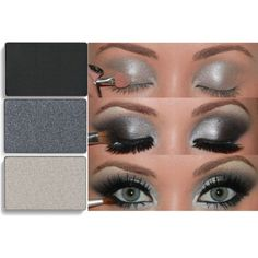 Order Mary Kay Mineral Eye Color in Coal, Brilliant Black Sterling to get this Deep Smokey Eye Look. http://www.marykay.com/kygirl