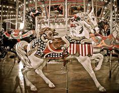 Carousel photo taken at the State Fair of Texas