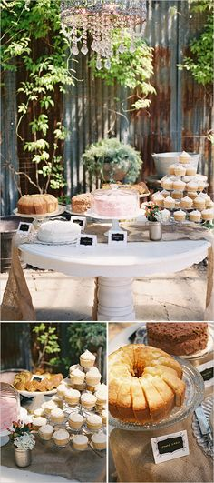 Bridal shower cake table ideas. Captured By: Stephanie Baker Photography  http://www.weddingchicks.com/2014/06/11/a-couple-shower-bursting-with-wc-free-printables/