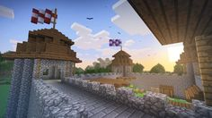 How To Build a Medieval Castle - Basic Minecraft Tutorial