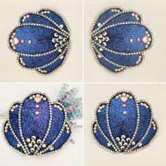 Mermaid Glitter SEASHELL Nipple PASTIES Custom Crystal Shell Ocean Beaded Burlesque Burning Man Lingerie Showgirl Costume Sexy