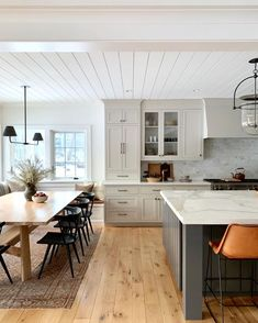 Classic White and Grey kitchen