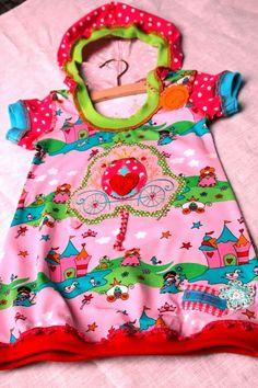 ♥ Püppeles BUNTland ♥: ...rosita als jersey-KLEID 1/3...