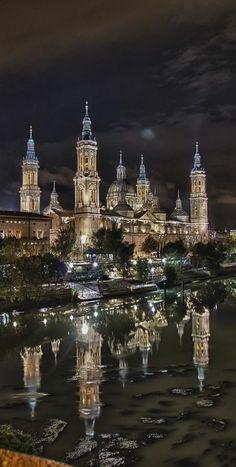 Basilica del Pilar, Zaragoza, Spain.