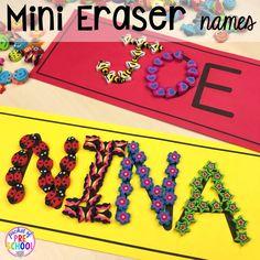 Name Activities Preschool, Kindergarten Names, Preschool First Day, All About Me Preschool, First Day Activities, Pre K Activities, Kindergarten First Day, Preschool Kindergarten, Preschool Learning