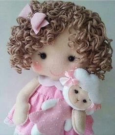 1 million+ Stunning Free Images to Use Anywhere Sock Dolls, Felt Dolls, Baby Dolls, Felt Fabric, Fabric Dolls, Crochet Doll Tutorial, Felt Patterns, Sewing Dolls, Waldorf Dolls