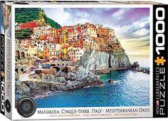 Eurographics 6000-0786 Cinque-Terre Manarola Italy 1000-Piece Puzzle