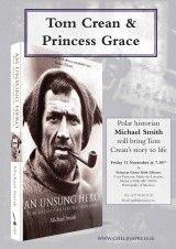 Tom Crean and Princess Grace - The Collins Press: Irish Book Publisher Book Publishing, Irish, Toms, Author, Events, Princess, Irish Language, Princesses, Ireland