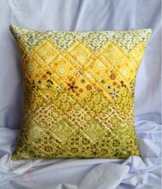 Sew Today, Clean Tomorrow: Quilted Cushion Cover Tutorial - UPDATED AS A NEW ...