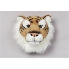 Wanddecoratie babykamer | Babyhuys, tijger