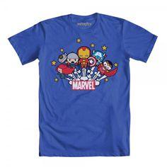 Kawaii Avengers - with Falcon, yay yay yay!