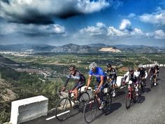 Riding the hills of Spain near Calpe on #trainInSpain training camp. www.cmitours.com  http://www.cmicycling.com/