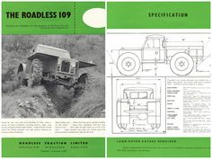 Advertisement for the 1961 Roadless 109 Forest Rover