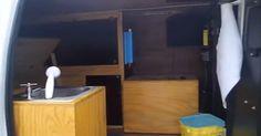 LIVING OFF THE GRID , CAMPER VAN , GYPSY Van sink install - YouTube Tiny Camper, Camper Van, Camper Interior, Kitchen Interior, Get Off The Grid, Van Living, Gypsy, Sink, Connect