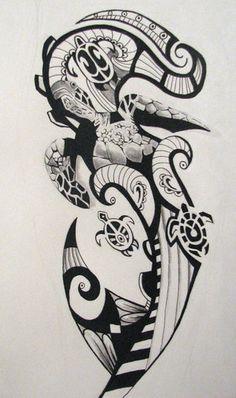 Tartaruga Maori - significa união familiar