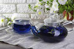 Купить синий чай из Таиланда Блю Пи - чай анчан (клитория)