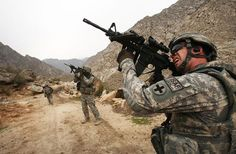 Afghanistan war 1And the war rages on in Afghanistan. The U.S. government should do our soldiers a favor and bring them (and our resources) home alive. Cut this shit out!