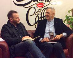 """Vincenzo Moretti al Salotto del Caffè. """"Raccontando storie ci prendiamo cura di noi stessi"""""""