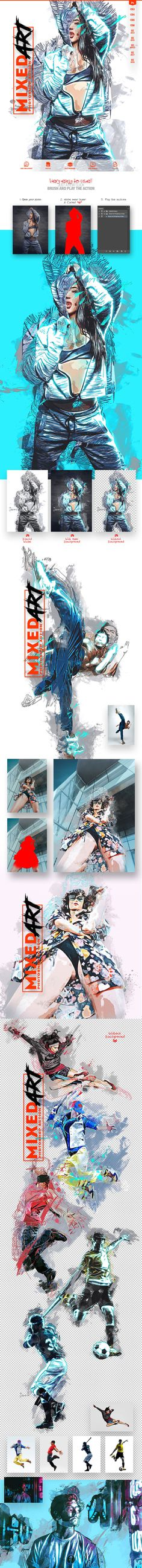 Mixed Art PS Action