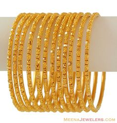i need these Gold Bangels like Now!