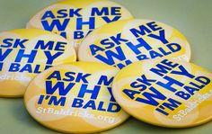 find these pins St Baldricks, Fight For Us, Childhood Cancer, Raise Funds, Shaved Hair, Event Ideas, Big Kids, Rock, Batu