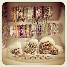 ahhh bracelets galore!!!:)