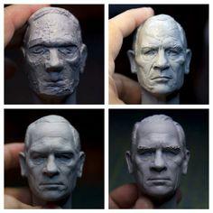 Wizzax sculpture by Sculpture Geek.