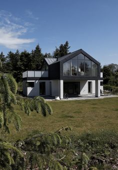 Private house, Struer, Denmark  by JG Arkitekter  #private house #Denmark #architecture #zinc