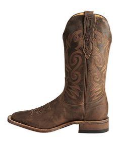 Boulet Rider Cowboy Boots - Square Toe