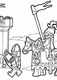 Lots of kinds of coloring pages, lego, etc. Long John