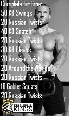 Kettlebell ExerciseWhat is Kettlebell Exercise? The kettlebell is not a new thing and it has been around for quite some time. Fitness Workouts, Training Fitness, Zumba Fitness, Sport Fitness, Body Fitness, Weight Training, Strength Training, Mens Fitness, At Home Workouts