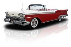 1959 Ford Galaxie Skyliner Red For Sale