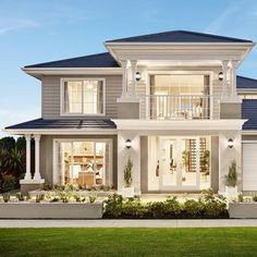 Best Modern Home Architectural Styles and Designs.Most people like several home architectural styles. 2 Storey House Design, Bungalow House Design, House Front Design, Modern House Design, Kerala House Design, Carlisle Homes, Architectural Styles, Dream House Exterior, Modern House Plans