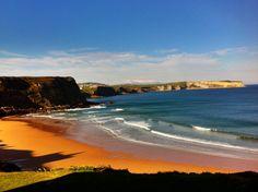 Carretera y playa: los mejores lugares para subirse a la ola (FOTOS) Playa de Los Locos. Suances. Cantabria. Spain ...