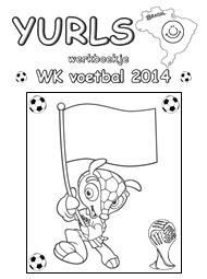 kleurplaat doelman ek voetbal 2012 kleurplaten nl