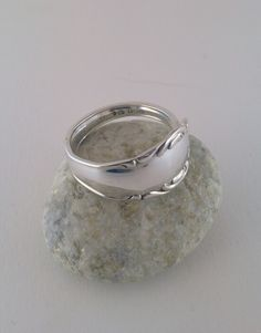 Spoon  ring silver 1965
