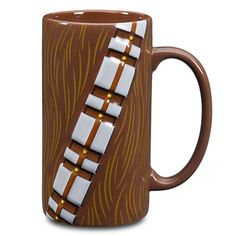 Chewbacca is really tall. So it's no surprise that a mug inspired by him has to be just as tall.