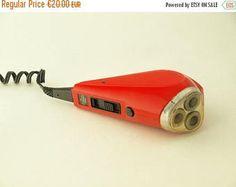 SALE 20% off Vintage electric razor for men fom Europe 80s
