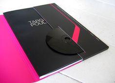 Ejemplos de folders creativos para identidad corporativa