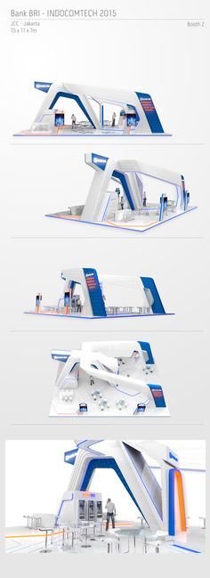 BRI Indocomtech 2015 - Booth 2 on Behance