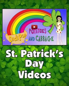 St. Patrick's Day Videos - St. Patrick's Day videos for kids. Learn about the origins of St. Patrick's Day. Sing along to cute songs.