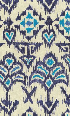 Ikat Fan pattern by lorchard on WeaveUp