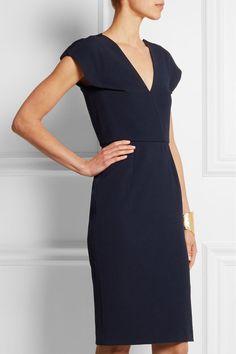 Roland Mouret | Afyon stretch-crepe dress | NET-A-PORTER.COM