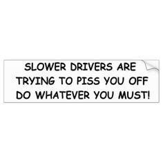 Sunday Drivers Bumper Sticker - craft supplies diy custom design supply special