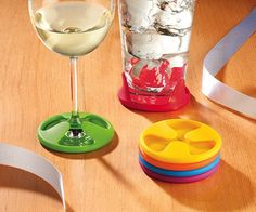 Silicone Grip Coaster Set | The Gadget Flow