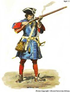 Bavaria; Musketeer 1687