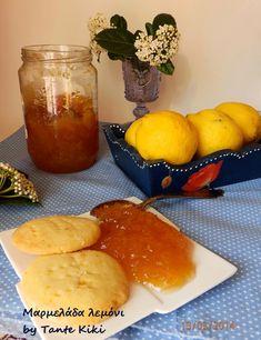 Tante Kiki: Μαρμελάδα λεμόνι Marmalade, Pretzel Bites, Food And Drink, Pudding, Sweets, Bread, Breakfast, Desserts, Recipes