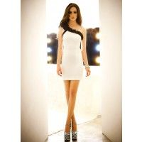 Bodycon Slim Sleeveless NightClub Sexy Women's Short Dress