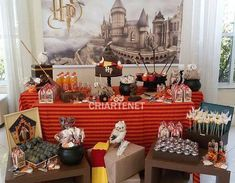 Harry Potter birthday party! See more party ideas at CatchMyParty.com!